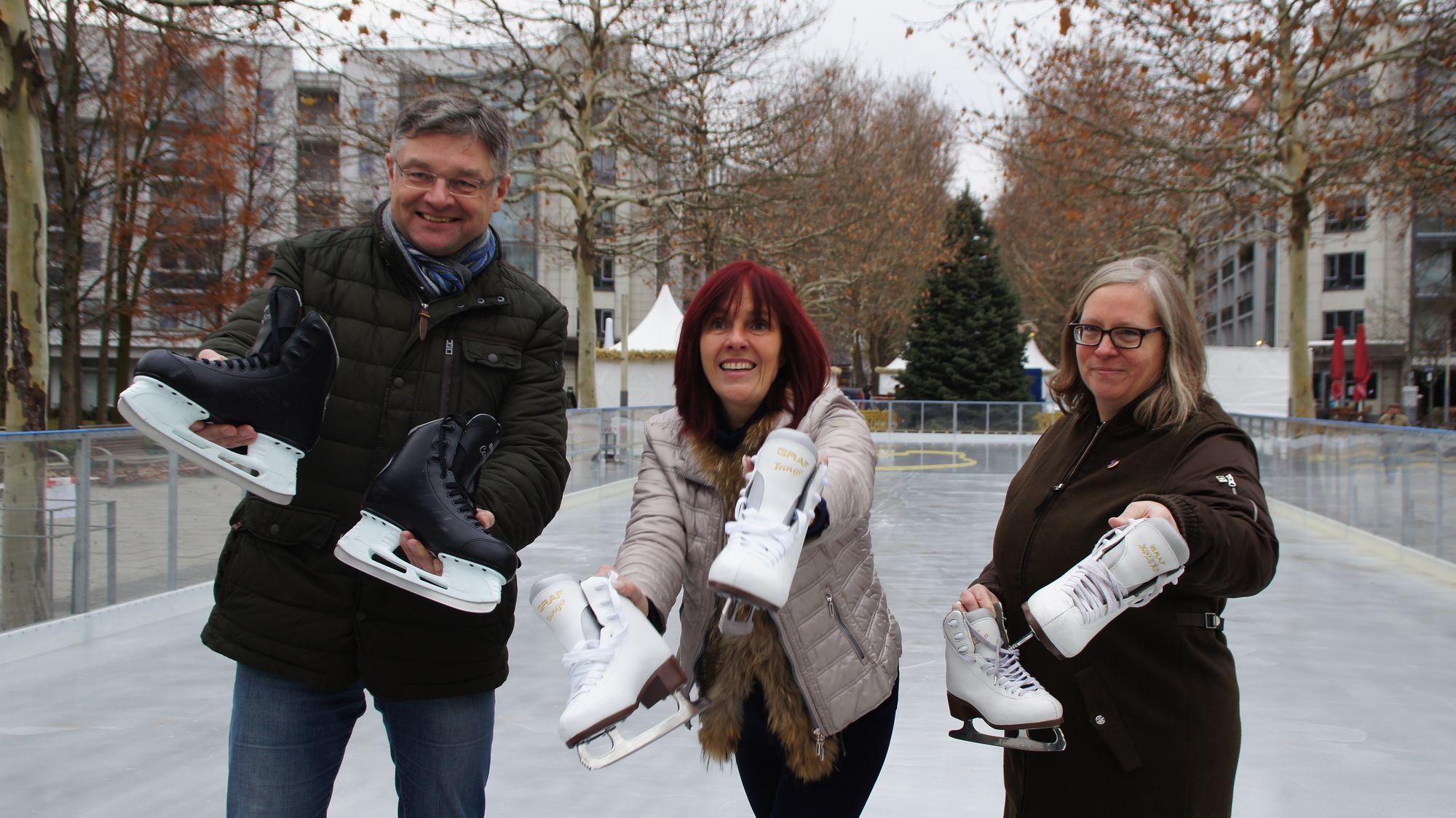 Holger Zastrow, Evelyn Dangrieß, Ulla Wacker