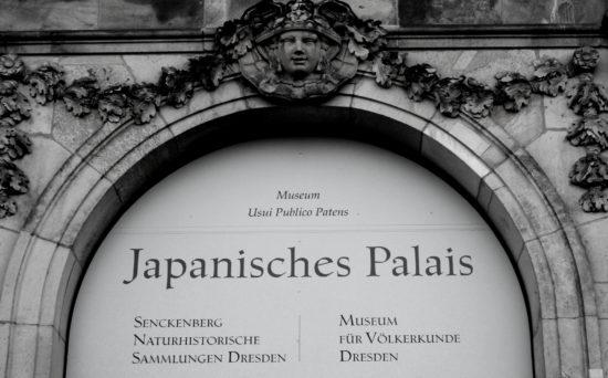 Das Japanische Palais bewahrt Exponate aus der Kolonialzeit.