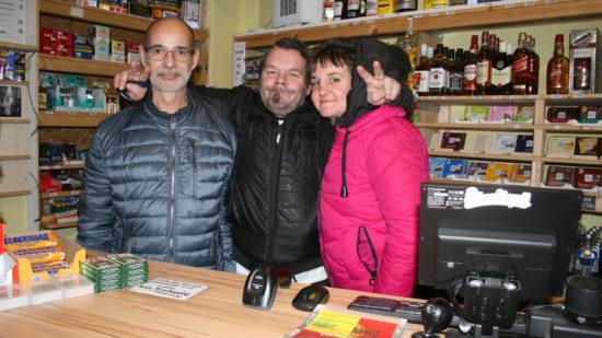 Das Team vom Späti Ro31 (von links: Jürgen Schiebel, André Böhme, Denise Öztune Golombowsky)