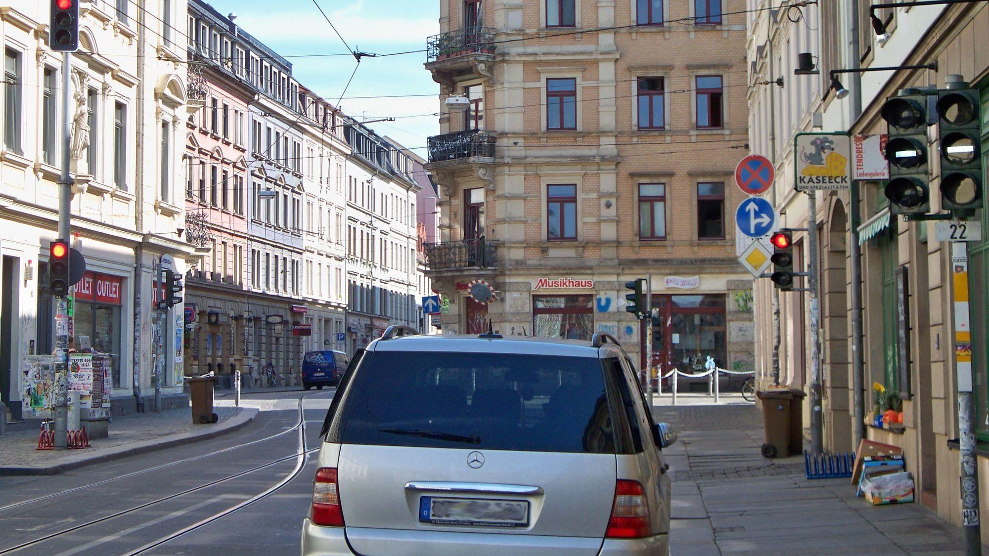 Die Ampel gibt es seit November 2006 - Foto: Archiv 2009