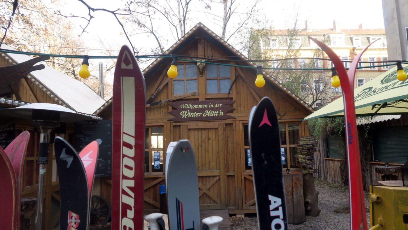 Winterhütte im Nikolausfieber