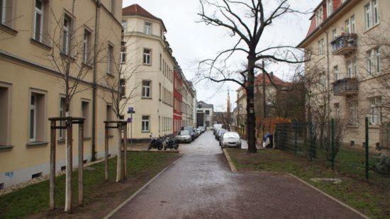 Blick in die Paulstraße