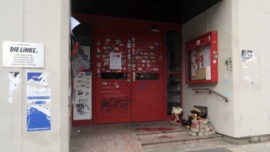 Eingangstür der WIR-AG