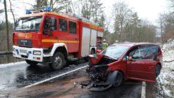 Unfall auf der Radeberger Straße - Foto: Roland Halkasch