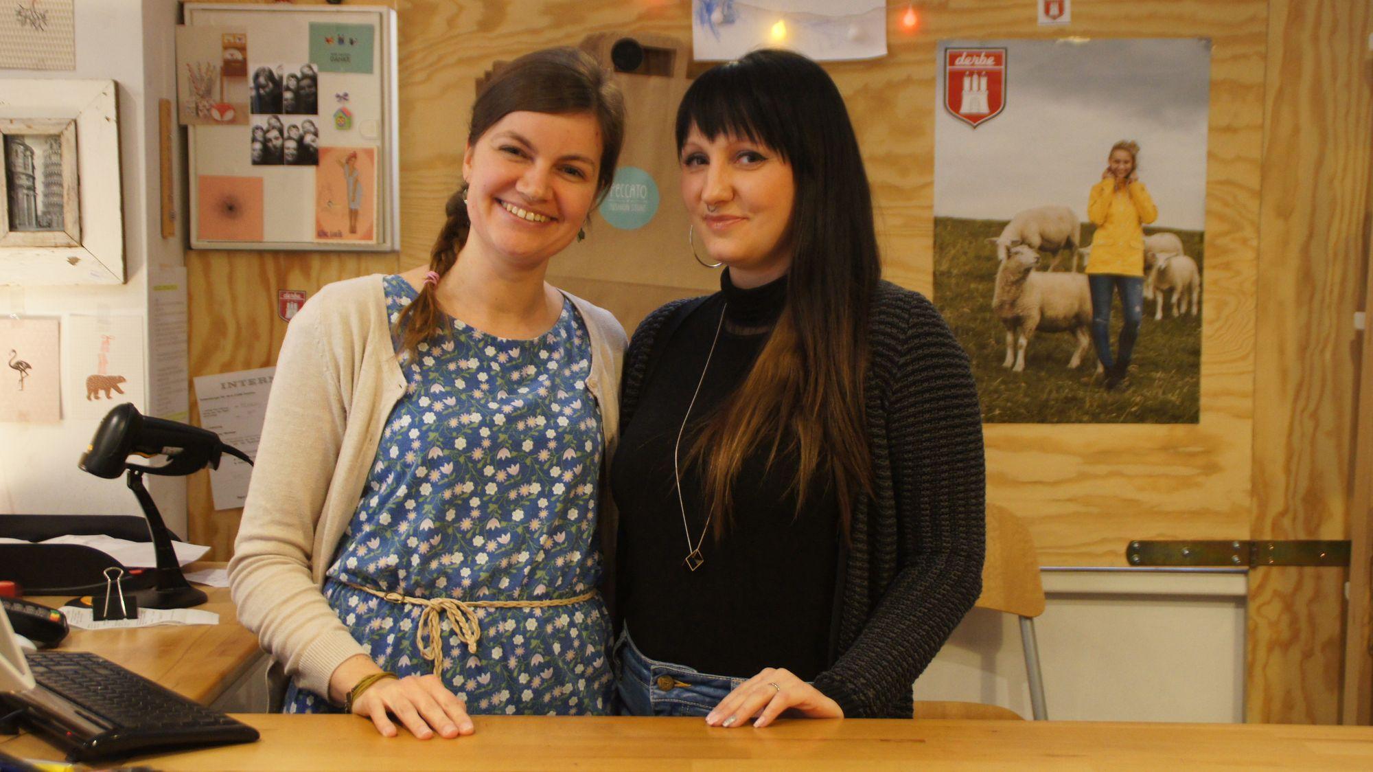 Alexandra und Janine vom Peccato