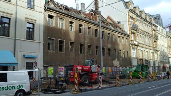 Anfang Februar begann der Abriss.