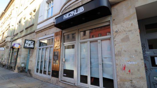 Kiezklub geschlossen