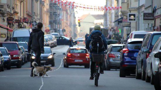 Die Louisen- und angrenzende Straßen sollen für eine Woche verkehrsberuhigt werden.