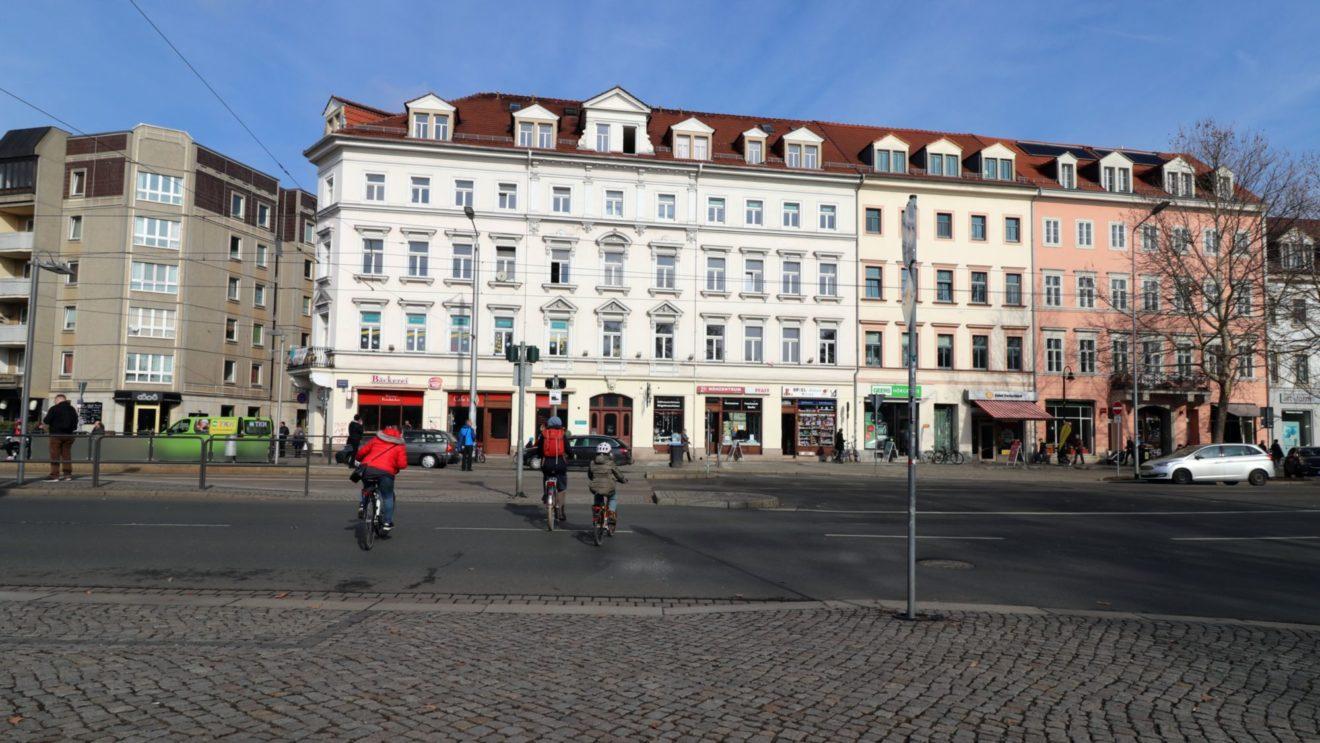Ab Sommer mit Ampel - Übergang von Glacis- zu Alaunstraße
