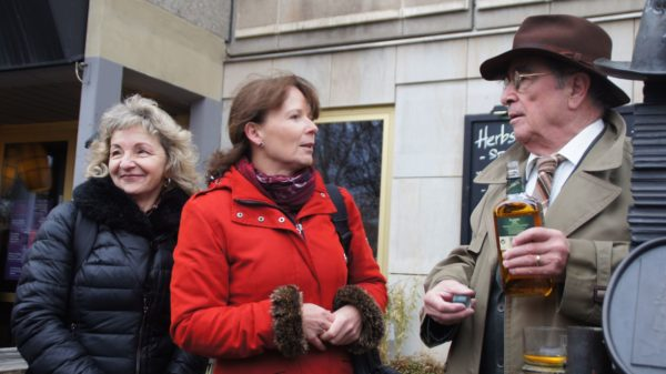 Andrea O'Brien, Sabine Mutschke und Roland Fröhlich