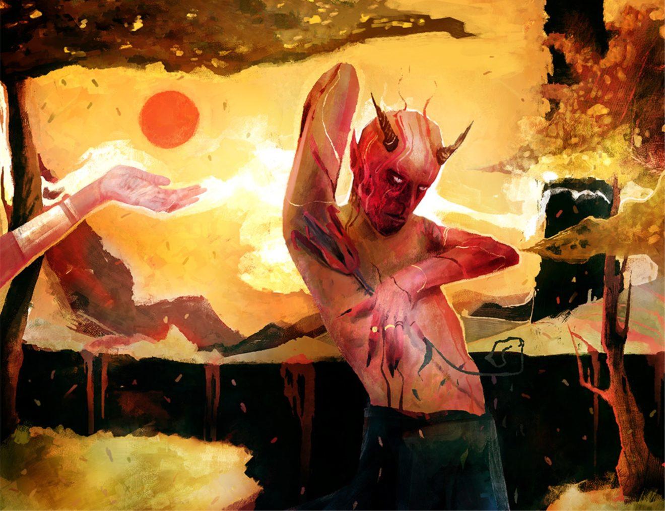 Das diesjährige Reverberation-Festival vereint Buntheit und Düsterkeit der psychedelischen Szene. Künstler: Artourette