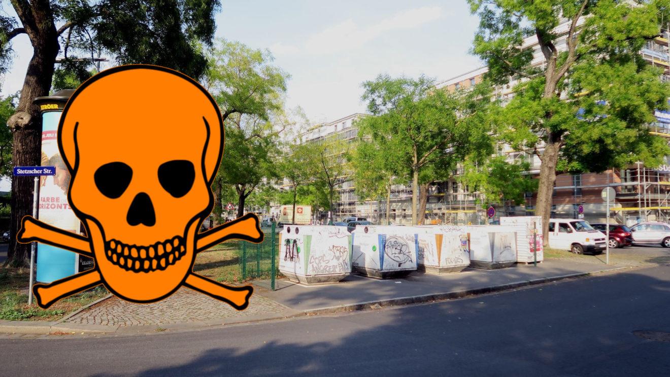 Hier wird das Schadstoffmobil am Sonnabend, 20. März Halt machen. Foto: Archiv 2018