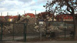 Das Gelände an der Harkortstraße gehört der Deutschen Bahn.