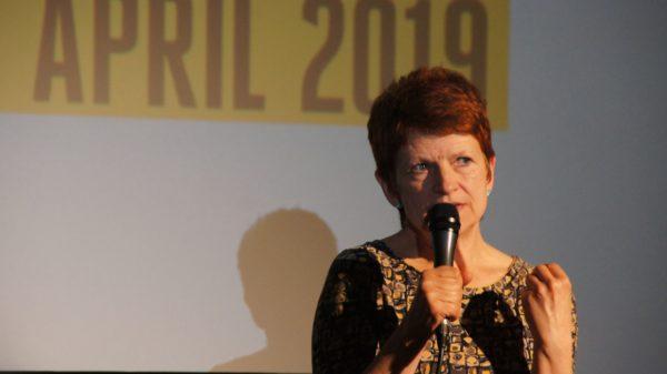 Sylke Gottlebe, Leiterin des Filmfestes Dresden