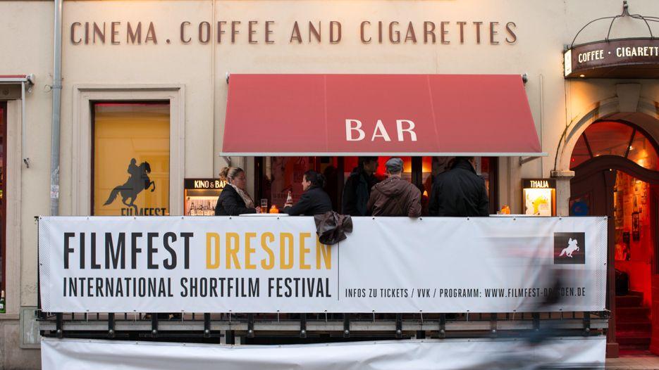 Internationales Kurzfilmfestival / International Short Fim Festival in Dresden . Foto: Oliver Killig