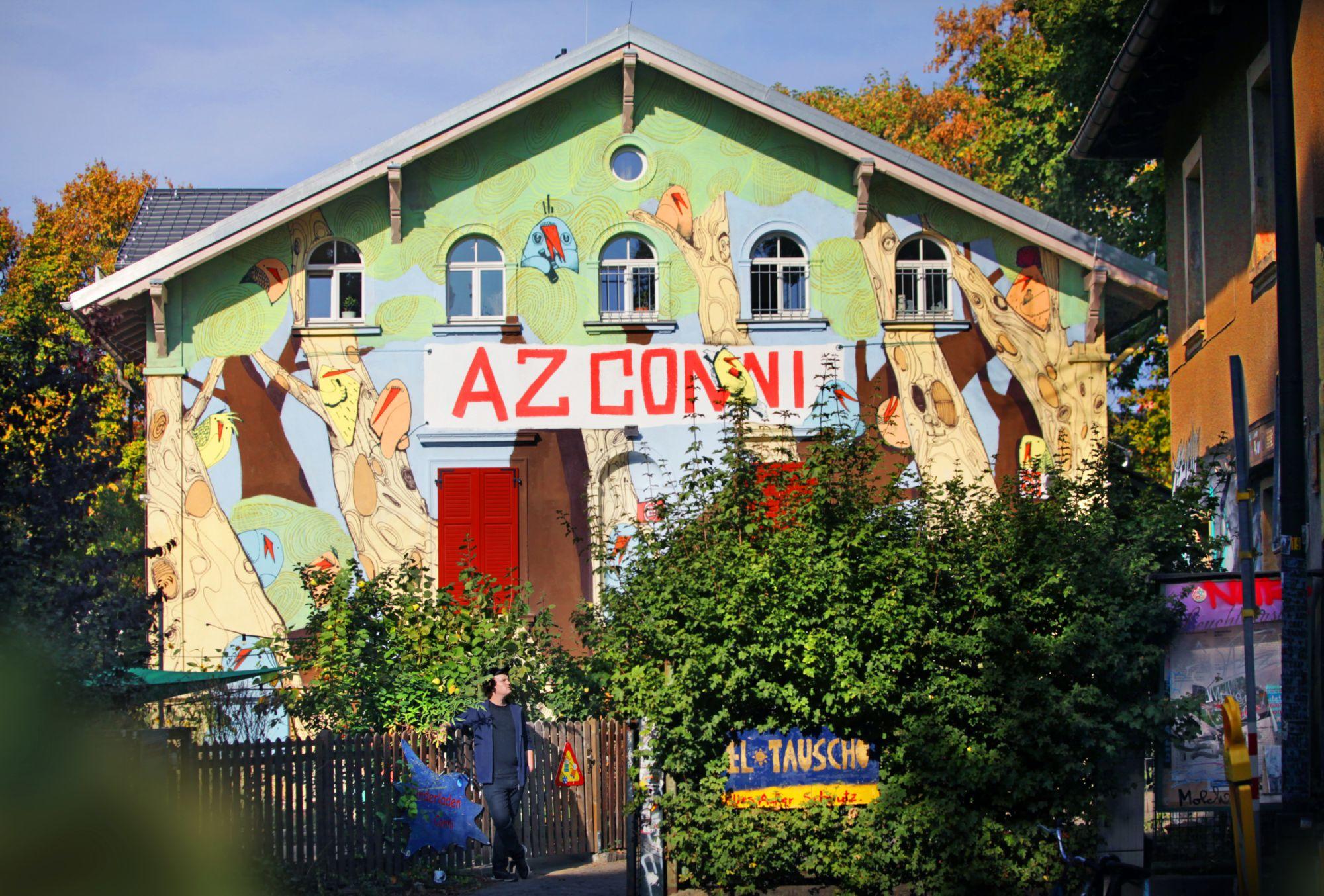 AZ Conni am Königsbrücker Platz - Foto: Amac Garbe