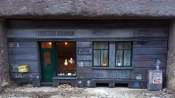 Miniatur-Kellerfenster