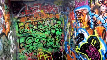 Kunterbunte Neustadt-Toilette