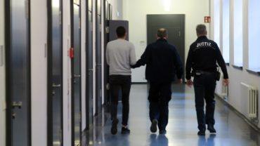Ghaleb N. (links) bleibt weiter in Haft.