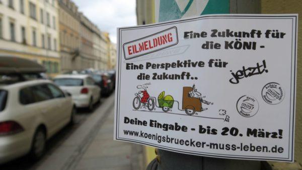 Königsbrücker muss leben! - Aufruf der Initiative