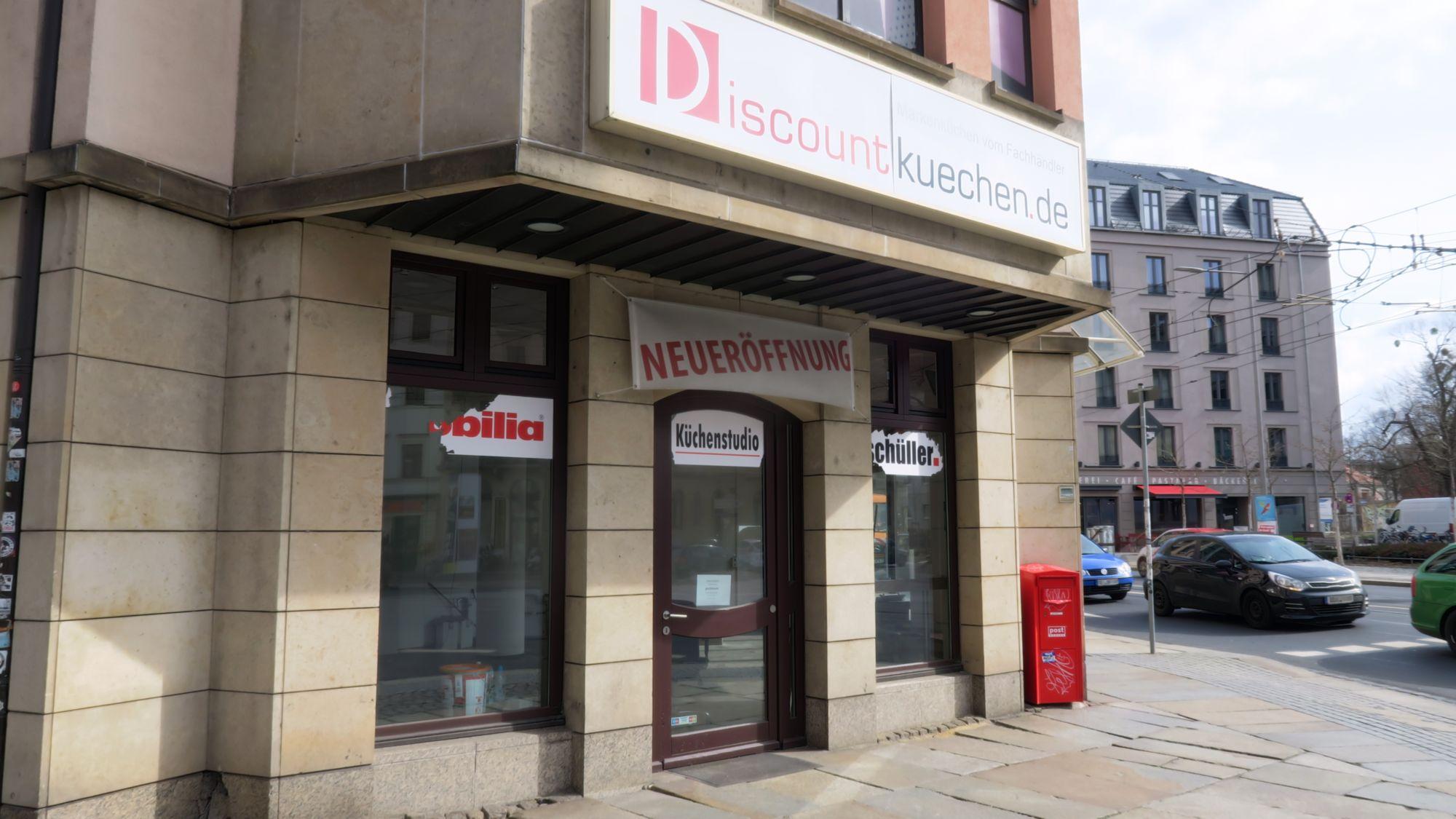 Keine Discount-Küchen an der Bautzner Straße mehr.