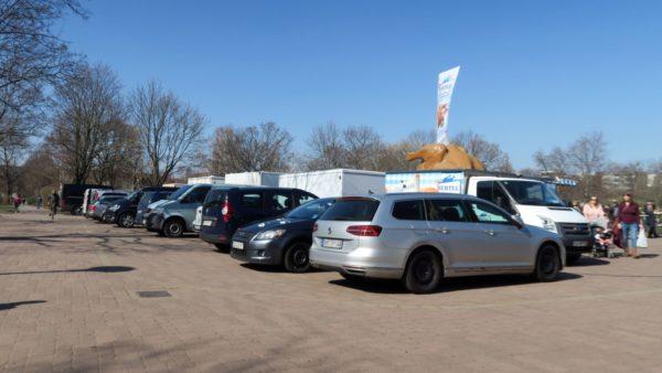 Der Alaunparkplatz
