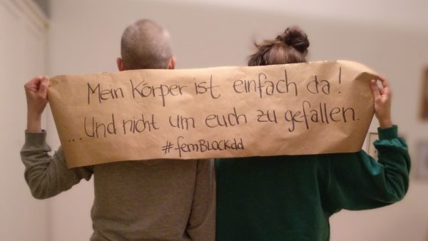 Das Netzwerk sammelt Statements mit Streikgründen. Foto: F*Streik Netzwerk Dresden