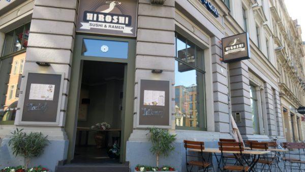Jetzt mit Sushi und Ramen an der Jordanstraße