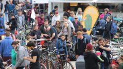 Gut besucht: Fahrradflohmarkt