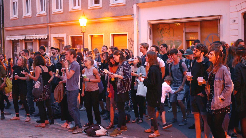 BRN 2018 auf der Martin-Luther-Straße - Foto: Laroslav Pobezhan