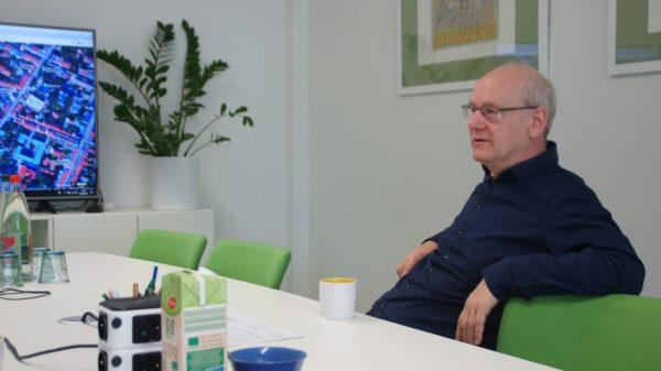 """Johannes Lichdi plant Wohnraum für die Neustadt: """"Da kann man locker noch vier bis fünf Kaffeemühlen hinsetzen"""""""