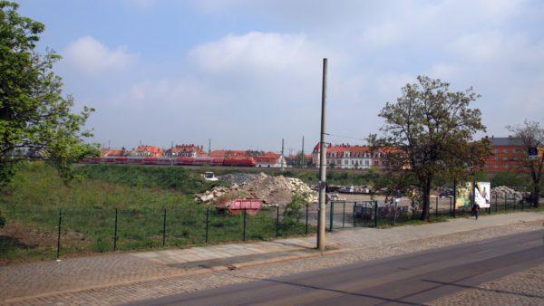 Das Gelände an der Harkortstraße.