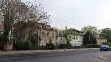 Leerstehende Villen an der Königsbrücker Straße