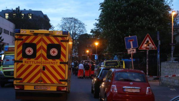 Polizei und Rettungskräfte waren im Einsatz