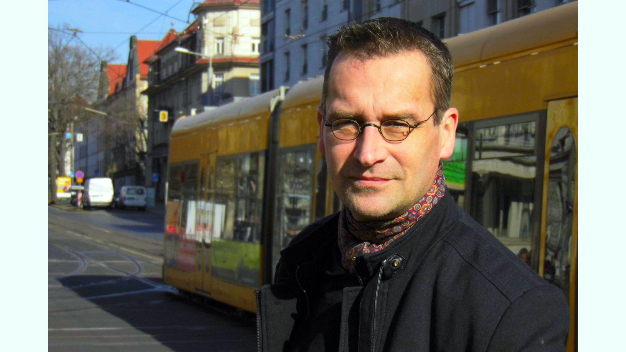 Dr. Martin Schulte-Wissermann (48), Physiker an der TU Dresden am Institut für Kern- und Teilchenphysik - Piraten