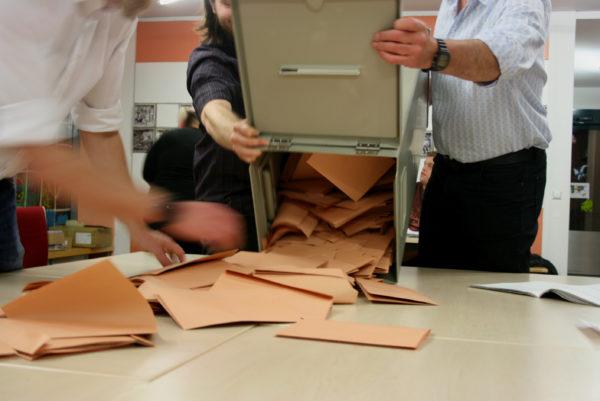 Letzte Auszählung: Die Wahl für den Stadtbezirksbeirat dauerte am Längsten.