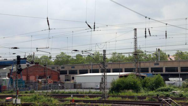 Oberleitungen der Deutschen Bahn - Symbolfoto