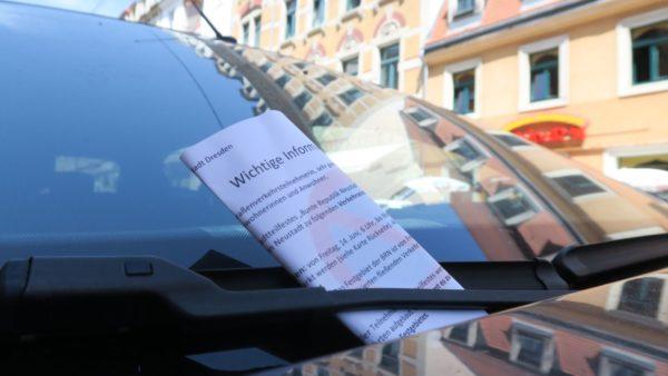 Hinweise für Autofahrer*innen.