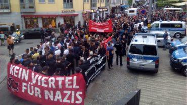Demo auf der Alaunstraße - Foto: PR/URA