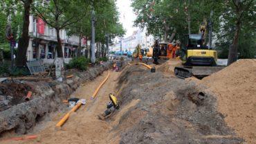 Baugrube Bautzner Straße