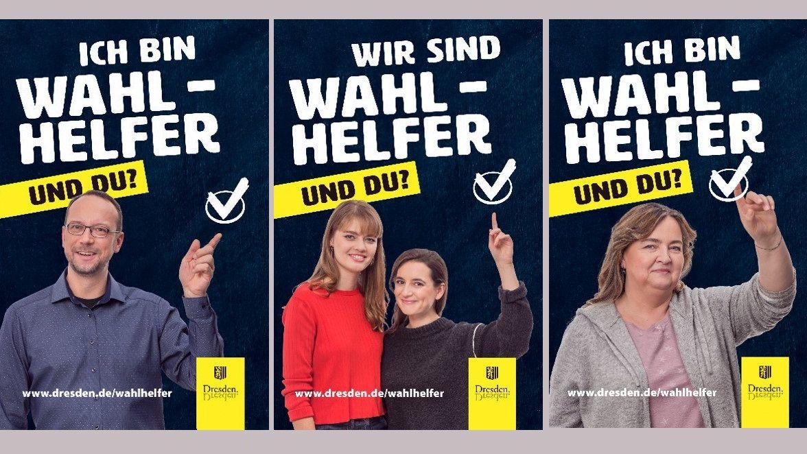 Wahlhelferinnen und Wahlhelfer gesucht.