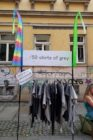 T-Shirts made in Dresden und in 50 shades of grey.