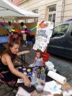 Kein Stadtteilfest ohne Kinder-Schminken.
