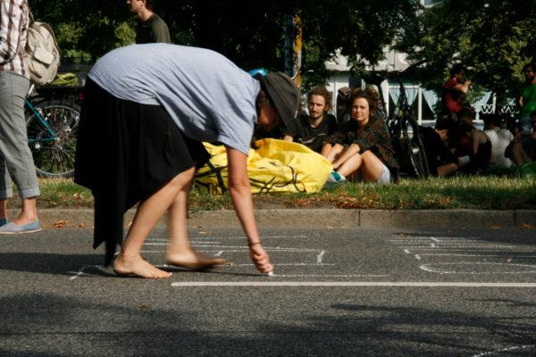 Was könnte man auf den autofreien Straßen alles machen?