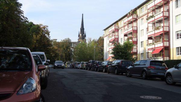Künftig nur gebührenpflichtig - die Löwenstraße