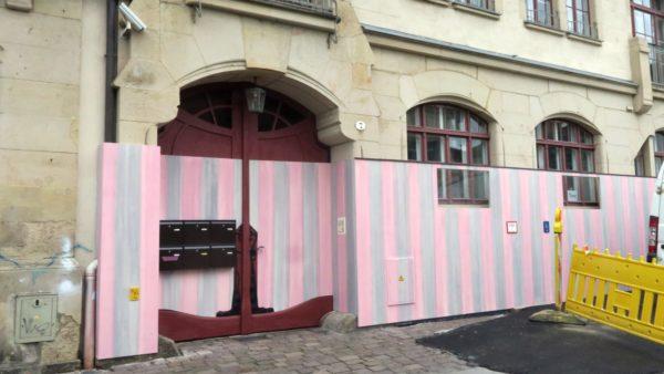 Graffiti-Schutz an der Prießnitzstraße