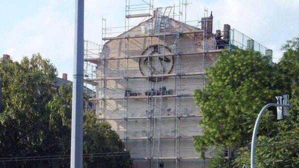 Der Meißner Herrenschuh wurde 2011 entfernt.