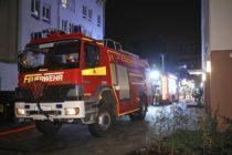 Brand an der Friedrich-Wolf-Straße - Foto: Roland Halkasch