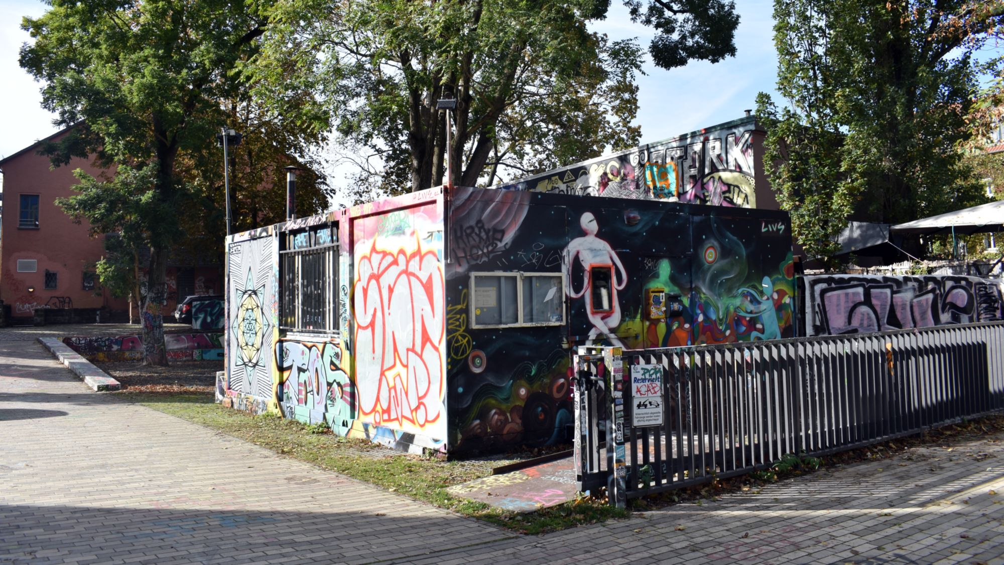 Jeden Donnerstag: Suppe im Container