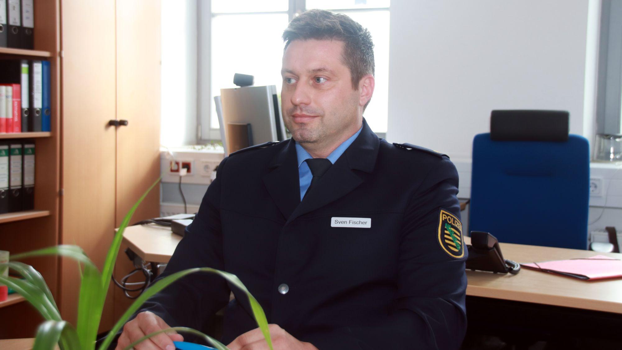 Sven Fischer, neuer Revierleiter Dresden Nord